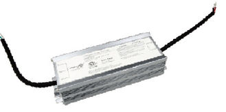 80W Constant Voltage TRIAC & ELV Edge American Dimmable LED Driver 24Vdc , 3.33A Max. MLU80V-T1